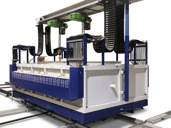 Schmelz- und Kühlsystem FE 2600/11