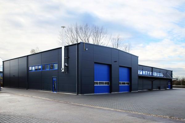 Investition in die Zukunft: Neubau- und Umbau-Arbeiten im ROHDE Produktionswerk