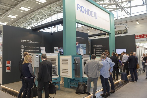 Developments and innovations for kilns and controllers: ROHDE at the Ceramitec 2018 in Munich