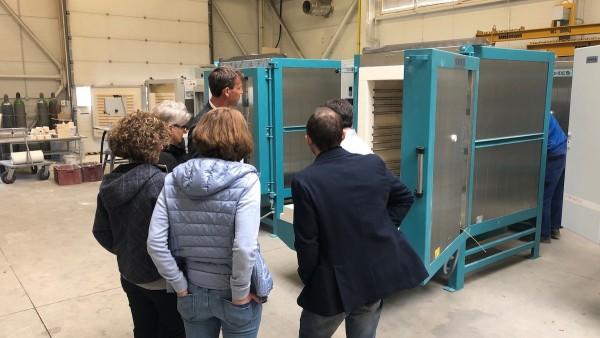 Fachhandelspartner CIBAS Impasti zu Besuch im ROHDE Werk