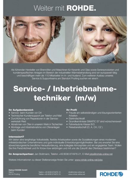 Service- und Inbetriebnahmetechniker (m/w)