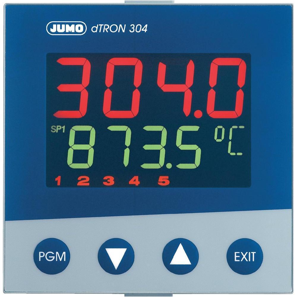 Jumo Dtron 304 Rohde Analog Temperature Controller 8211 Relay