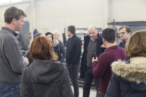 CZ specialist trade partners visit the ROHDE production facilities in Dyjákovice