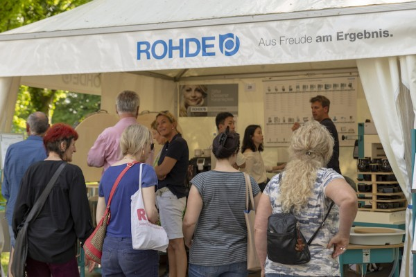 """ROHDE Sales and Service Partner """"Willems Keramiek"""" moved to a new building"""