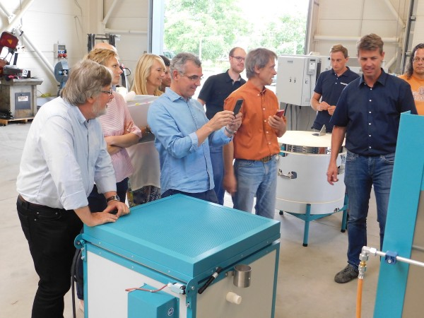 French specialist trade partners visit ROHDE production works