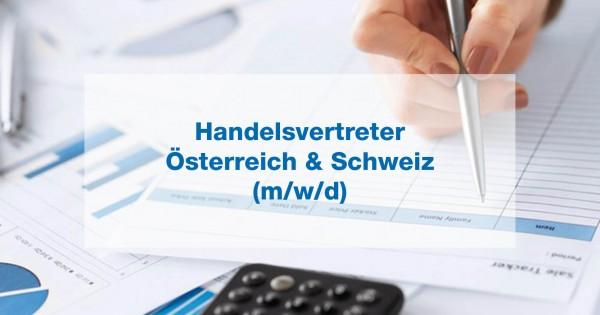 Handelsvertreter im Außendienst (m/w/d) Österreich & Schweiz