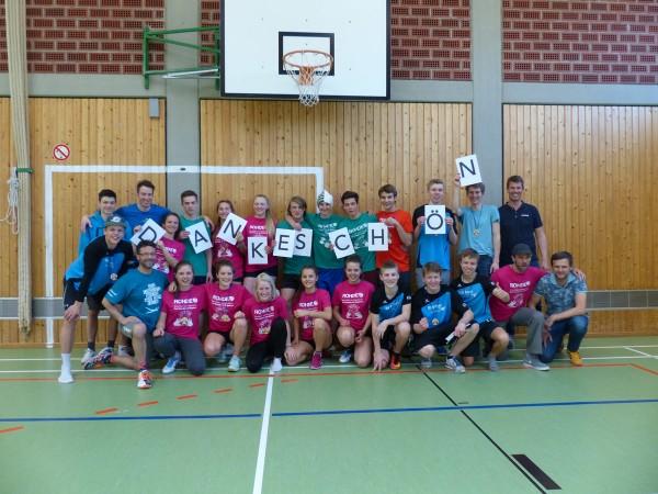 Die 21. Deutsche Volleyball-Meisterschaft der Waldorfschulen von ROHDE gesponsert